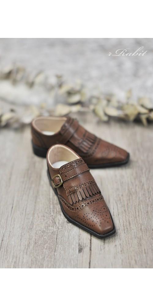 [Jan Pre]SD13/SD17 - Bourbon Oxford Shoes- RSH004 Carob