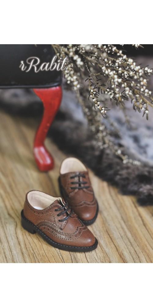 1/4 MSD/MDD Boy Classic Oxford Shoes - RSH005 Carob