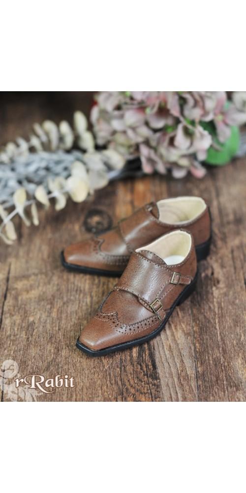 [Pre]1/3Boy SD13/SD17 Monk Shoes - RSH007 Carob