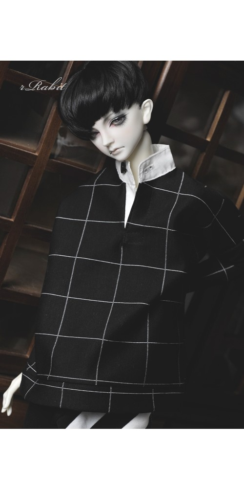 1/3 [Stand collar T-shirt] SH037 1907