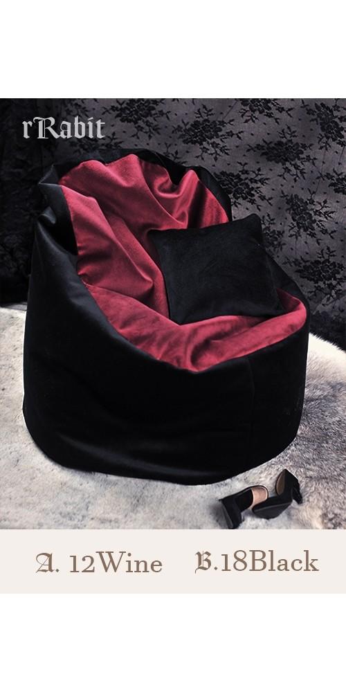 [Reco.]Sofa - [JellyBean]- A.12Wine B.18Black