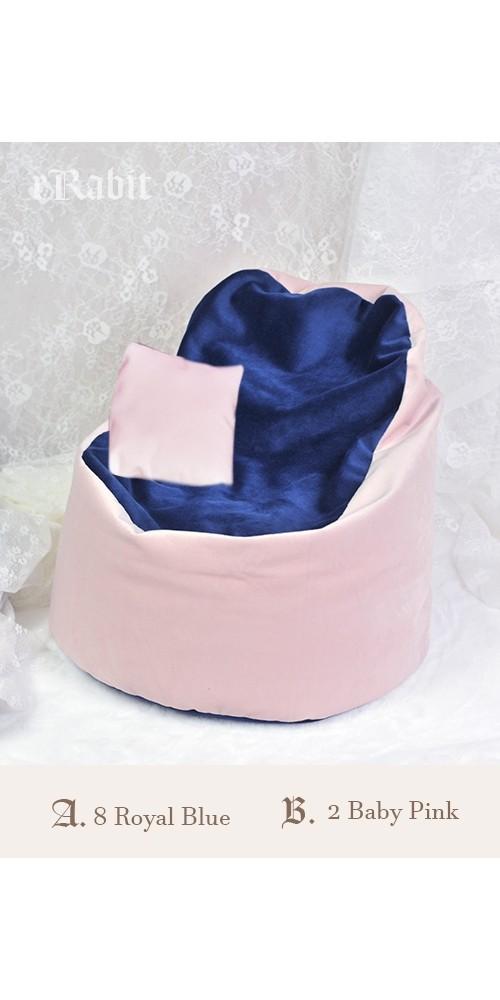 [Reco.]Sofa - [JellyBean]- A.2BabyPink B.8RoyalBlue