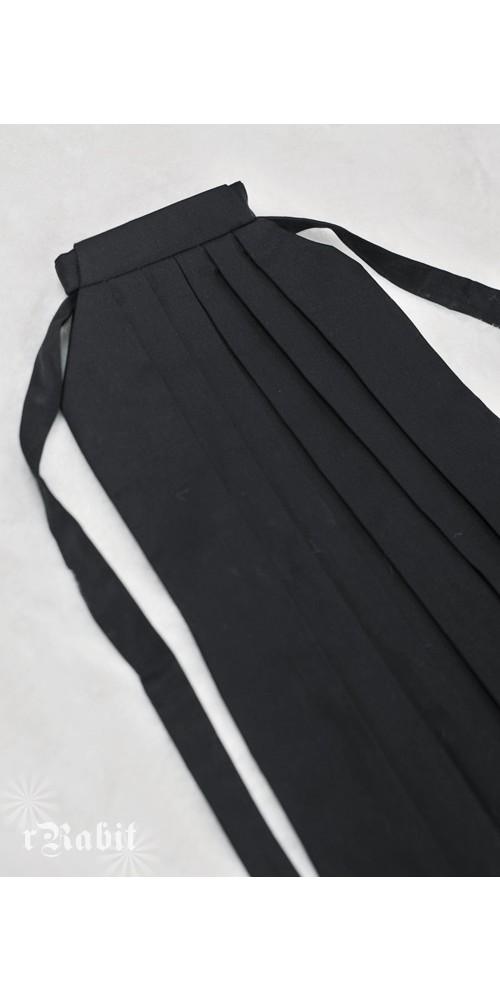 1/4 Hakama 行燈袴 (Japanese Bottom Dress) TS001 1702 (Black)