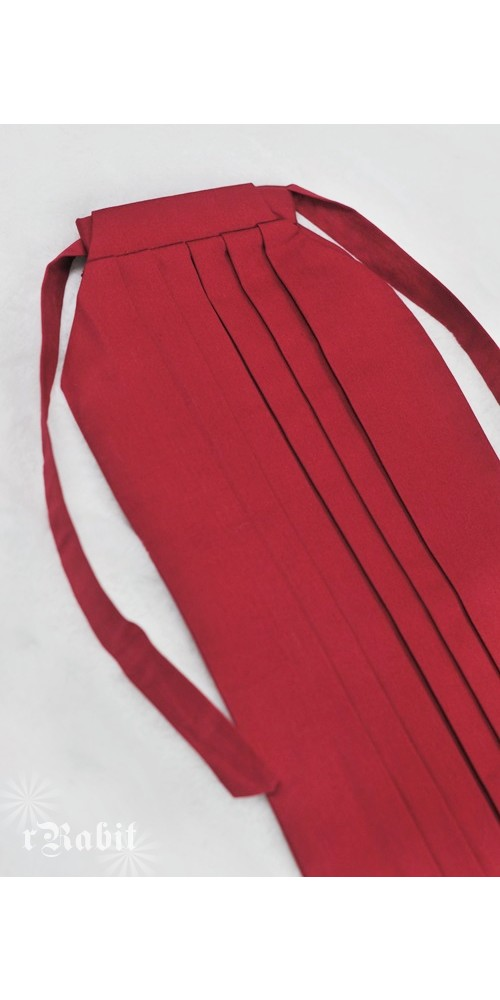1/3 Hakama 行燈袴 (Japanese Bottom Dress) TS001 1703 (Red)