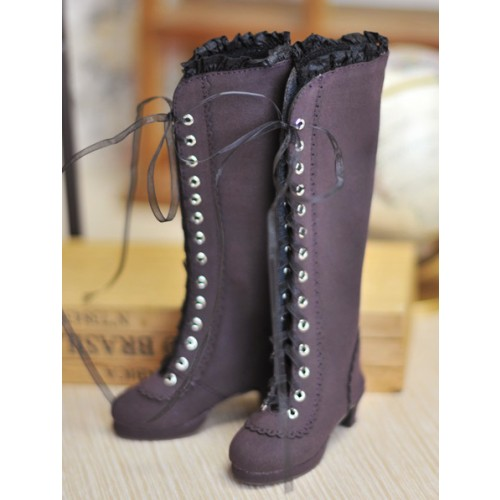 1/3 SD10/13 - LG002 Carving long boot - Royal Violet