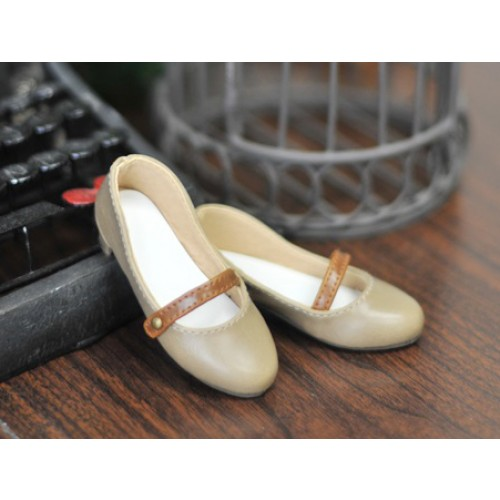 1/3 Sugar Dolly Shoes LG008 - Milk Tea